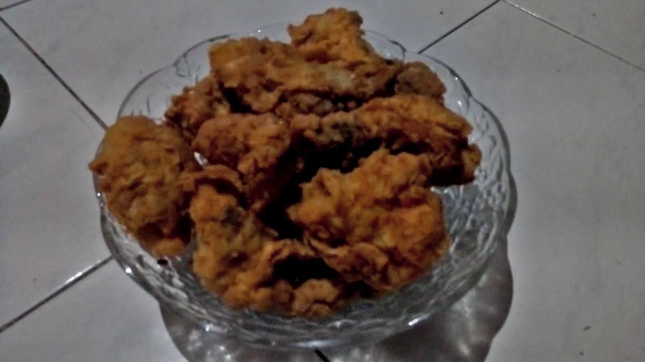 Cara membuat Ayam Geprek, simple, renyak, Crispy dan enak ...