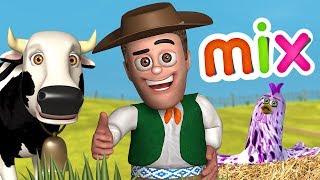 Bataraza, Vaca Lola y Zenón - ¡3 Episodios y Canciones! - La Granja de Zenón