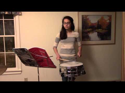 NEU Music Scholarship Audition - Percussion