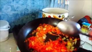 Суп Куриный с Вермишелью.Очень вкусный суп!Chicken Soup with Vermishelyu.Ochen delicious soup!