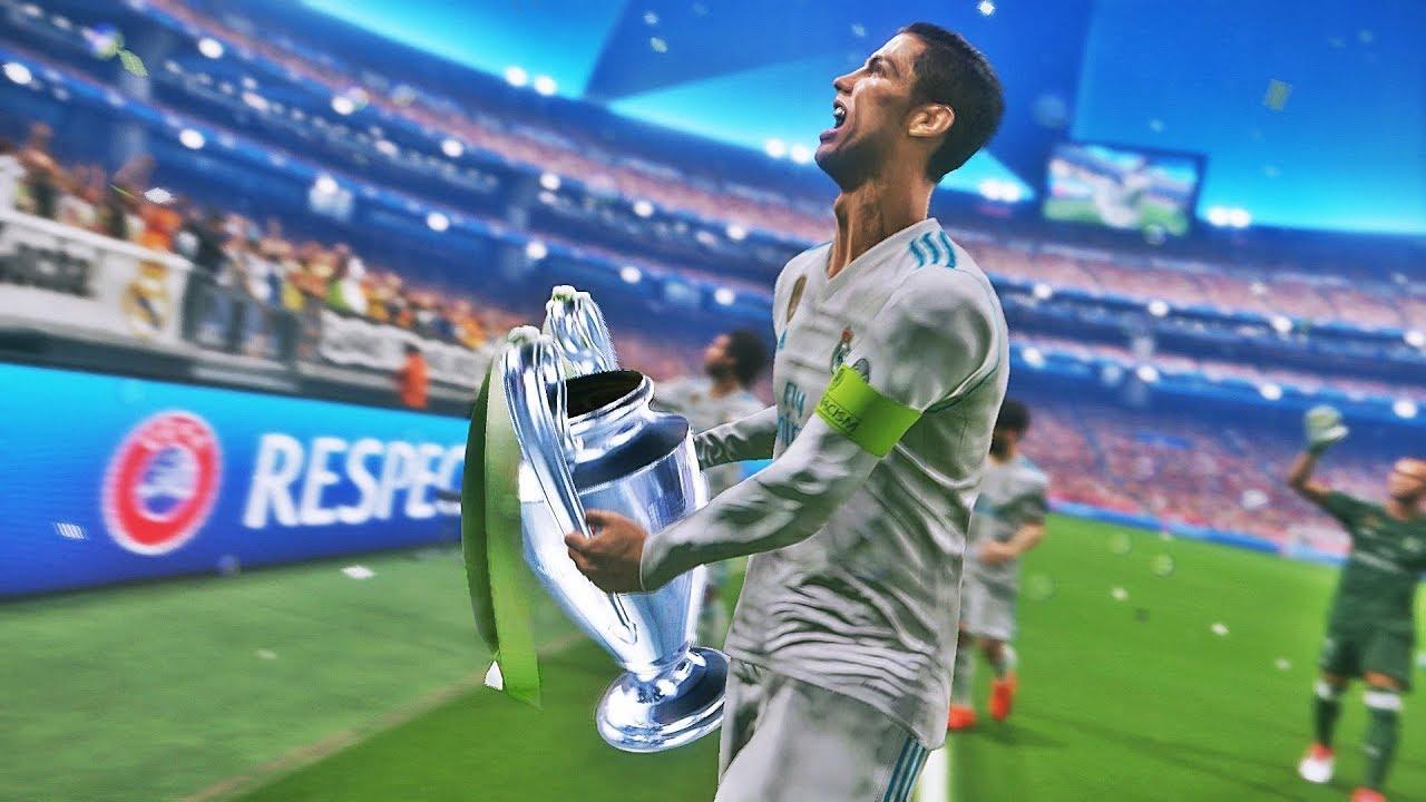 PES 2018 - Real Madrid vs Liverpool | Final UEFA Champions League
