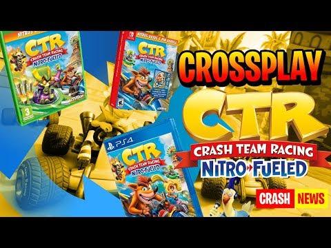 EL CROSSPLAY EN CRASH TEAM RACING NITRO FUELED PS4, XBOX ONE Y NINTENDO SWITCH
