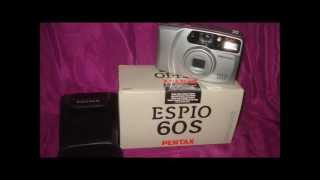 DEMO OF ESPIO 60S A FILM CAMERA PENTAX YEAR 2001 IN BOX AS NEW AND WHAT IT IS WORTH