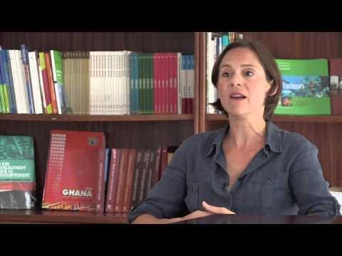 Au plus près du monde : Amélie July, directrice de l'agence AFD au Ghana