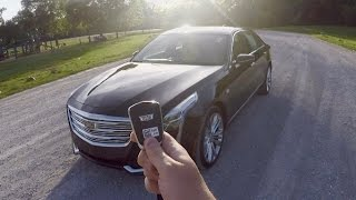 What It's Like To Drive The '16 Cadillac CT6 | POV Drive