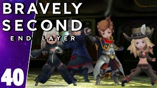 Bravely Second End Layer Part 40 Kaiser Boss Battle New Game + Walkthrough Gameplay