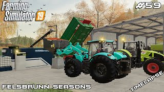 Making seeds & renovating farm | Animals on Felsbrunn Seasons | Farming Simulator 19 | Episode 59
