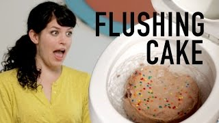 Can You Flush A Chocolate Cake Down A Toilet?