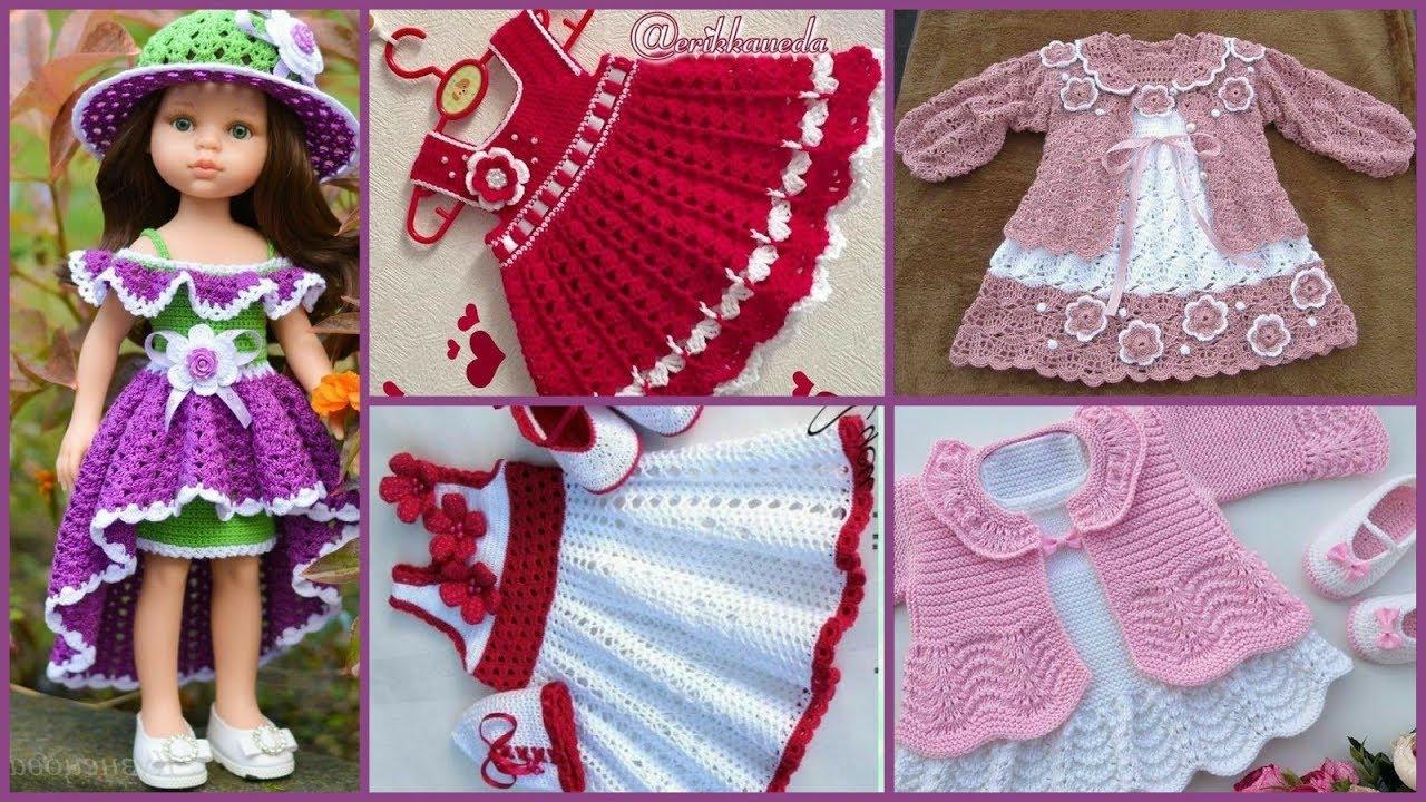 Latest Crochet & Knitting Baby Frocks Designs Ideas ...