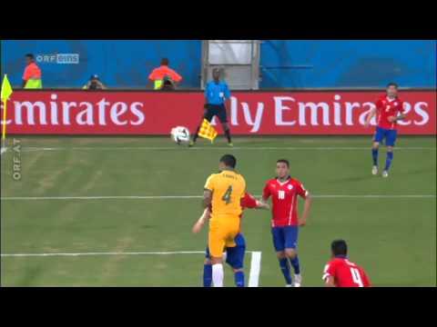 FIFA WM  Highlights Chile vs Australia- 3:1