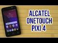 Распаковка Alcatel OneTouch Pixi 4 4034D Dual Sim Volcano Black mp3