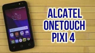 смартфон Alcatel ONE TOUCH PIXI 4 4034D маленький обзор