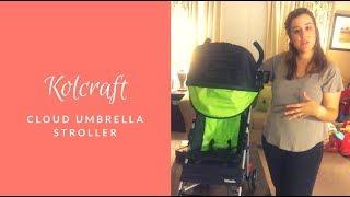 Kolcraft Cloud Umbrella Stroller Review - SSSVEDA Day 18