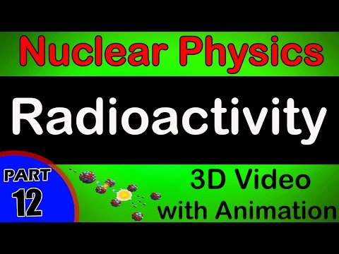 Radio Activity | Nuclear Physics | class 12 physics subject notes lectures|CBSE|IITJEE|NEET