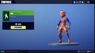 Emote DIP Rarity Uncommon Obtainable through 200 V Bucks Check out the latest Fortnite