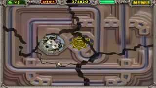 Zuma Deluxe Walkthrough [HD] - Stage 6