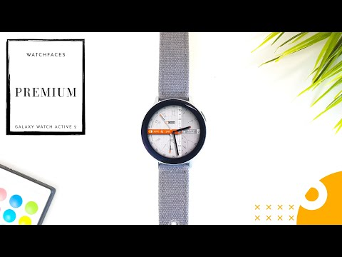 The Best PREMIUM Watch Faces For The Galaxy Watch Active 2 !