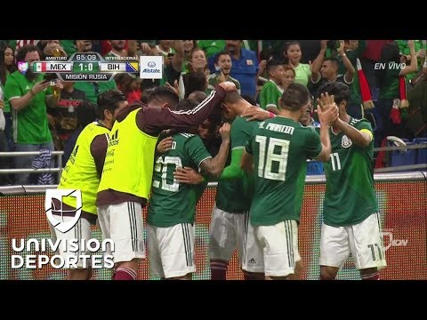 ¡GOL! Hugo Ayala - México 1-0 Bosnia & Herzegovina