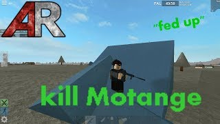 """Roblox : Apocalypse rising - kill montage """"fed up"""""""