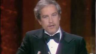 Richard Dreyfuss winning Best Actor