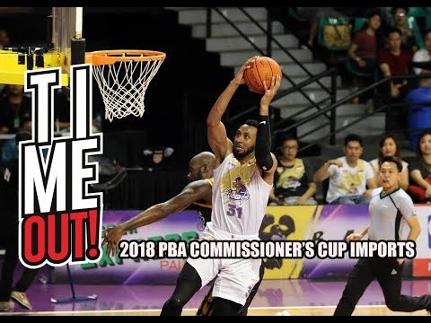 Time Out #106: 2018 PBA Commissioner's Cup Import List! (English Subtitles)