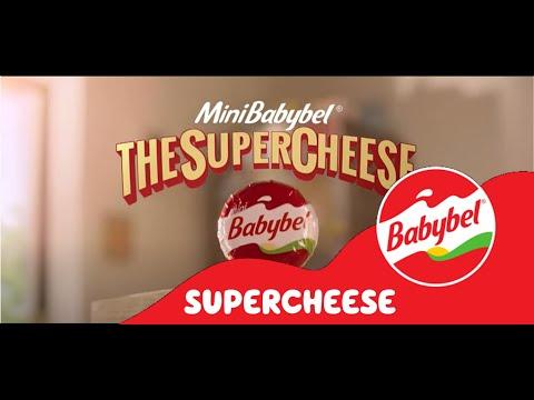 Mini BabyBel Supercheese TV Ad