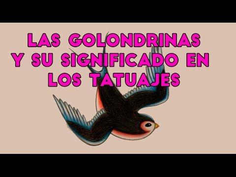 Las Golondrinas Y Su Significado En Los Tatuajes Youtube
