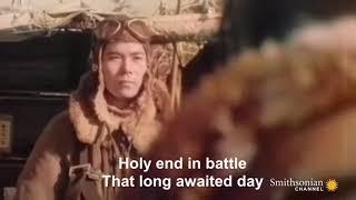 Hail of Bullets - Kamikaze Music Video with lyrics