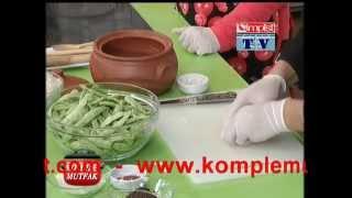 GÜveÇte Taze Fasulye -  Fresh Bean Casserole