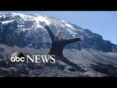 8-year-old becomes youngest girl to scale world-famous mountain