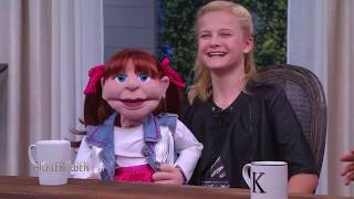 AGT Winner Darci Lynne Farmer Performs with Her Puppet Pal - Pickler & Ben