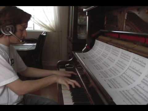 Heaven - DJ Sammy, played on the piano