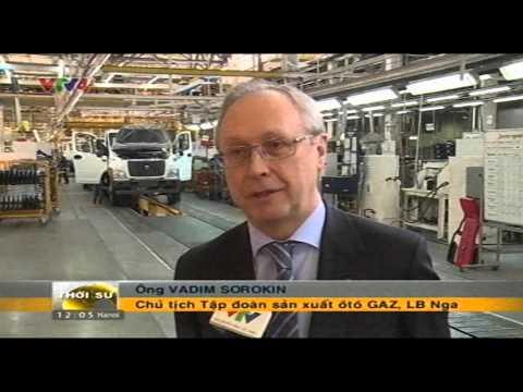 Xe ô tô Nga chuẩn bị đến Việt Nam