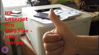 HP LaserJet Pro M203dw - blitz review