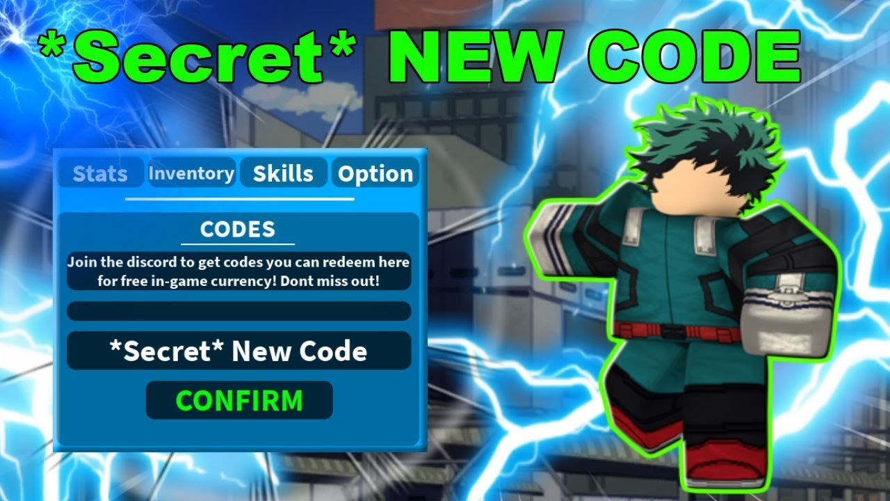 *Secret* New Code ! | Boku No Roblox: Remastered | Roblox ...