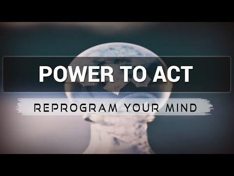 Positive Affirmations for Power to Act - Law of attraction - Hypnosis - Subliminal
