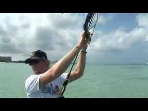 Shane O goes Kiteboarding in Aruba (2008) NYATG