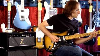 Dr. Z M12 Amp demo and JHS Moonshine Overdrive