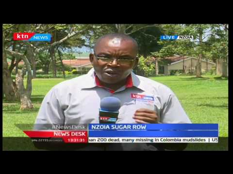 Farmers storm Nzoia Sugar factory in an attempt to prevent a new managing director from taking over