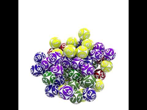 lottery balls animation