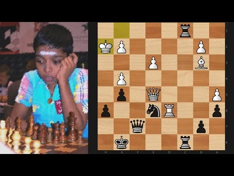 World's Youngest Chess IM Beats Gawain Jones At 2017 Reykjavik Open! Amazing Defense!