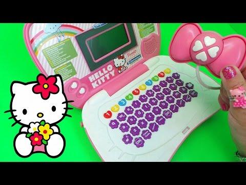 7f61aaee7 HELLO KITTY LAPTOP By Clementoni Sanrio Computer Kid Toy #hellokitty ...