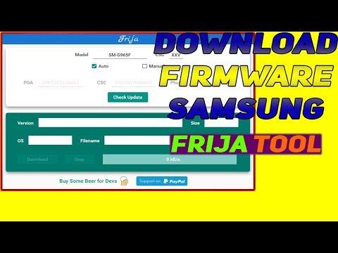 Frija 1.3.0 Download Firmware Samsung Quickly