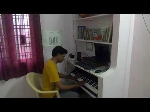 Ravoyi Chandamama song on piano