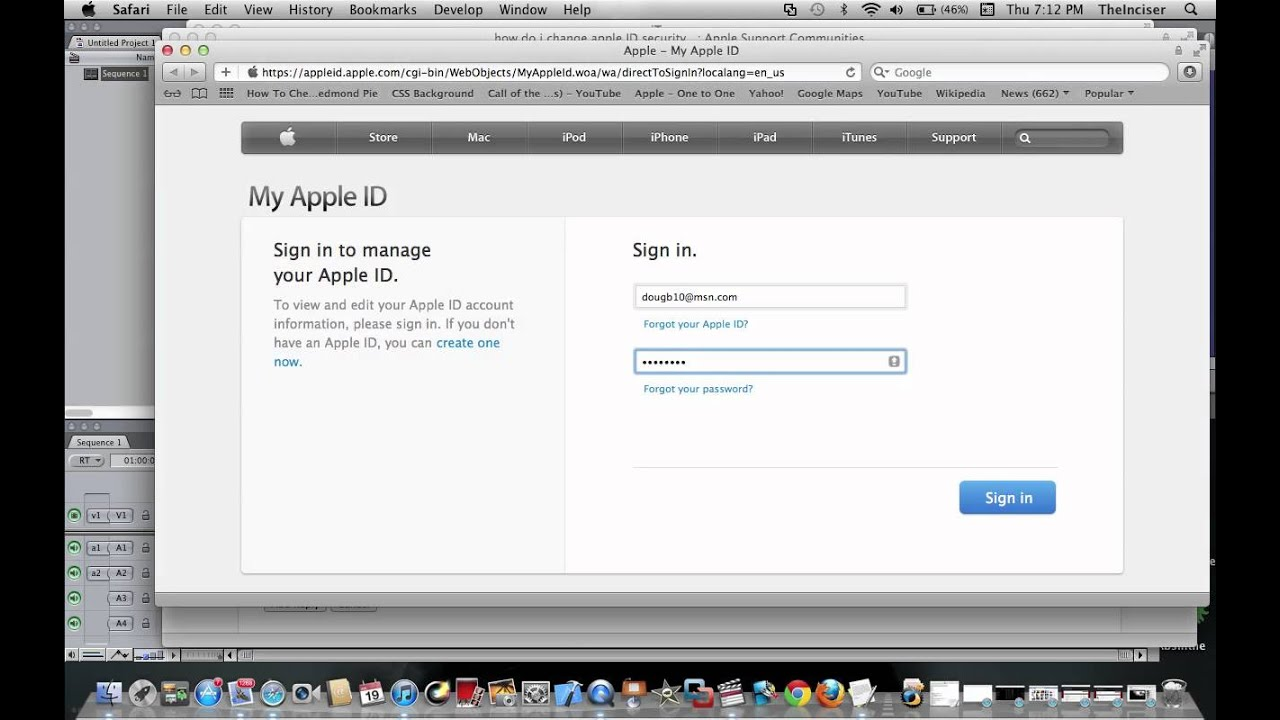 how to find out your parents apple id password