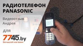 Радиотелефон PANASONIC KX TG6821RUM Видеоотзыв (обзор) Андрея