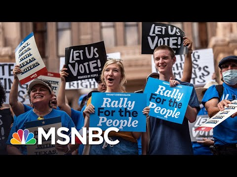 Democrats Take National Voting Rights Fight On The Road