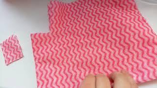 Как сделать полотенце для куклы