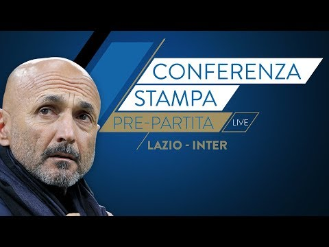 Lazio-inter  | luciano spalletti in conferenza stampa live
