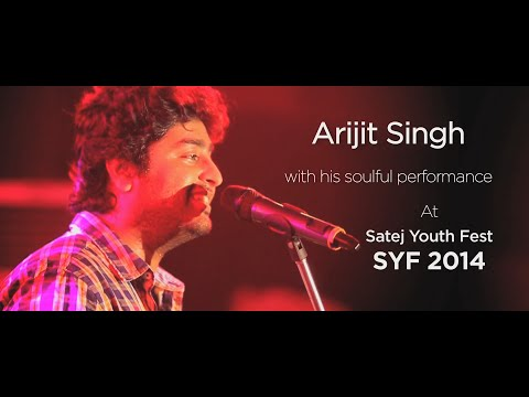 Arijit Singh With His Soulful Performance At Satej Youth fest SYF 2014.